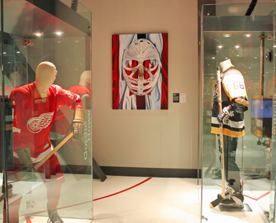 Canada's Sports Hall of fame hockey gallery
