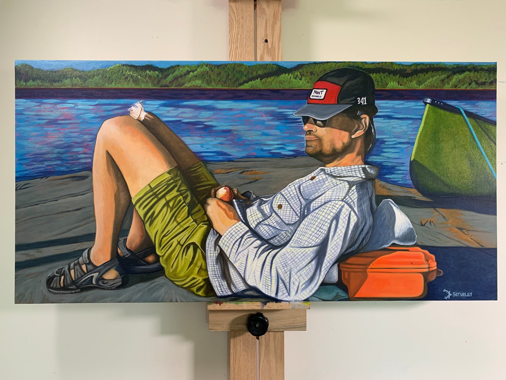 Painting portraits of Canadians