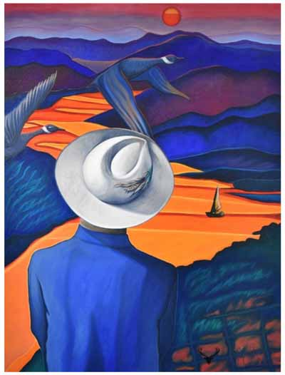 canadian painting art Brandy Saturley