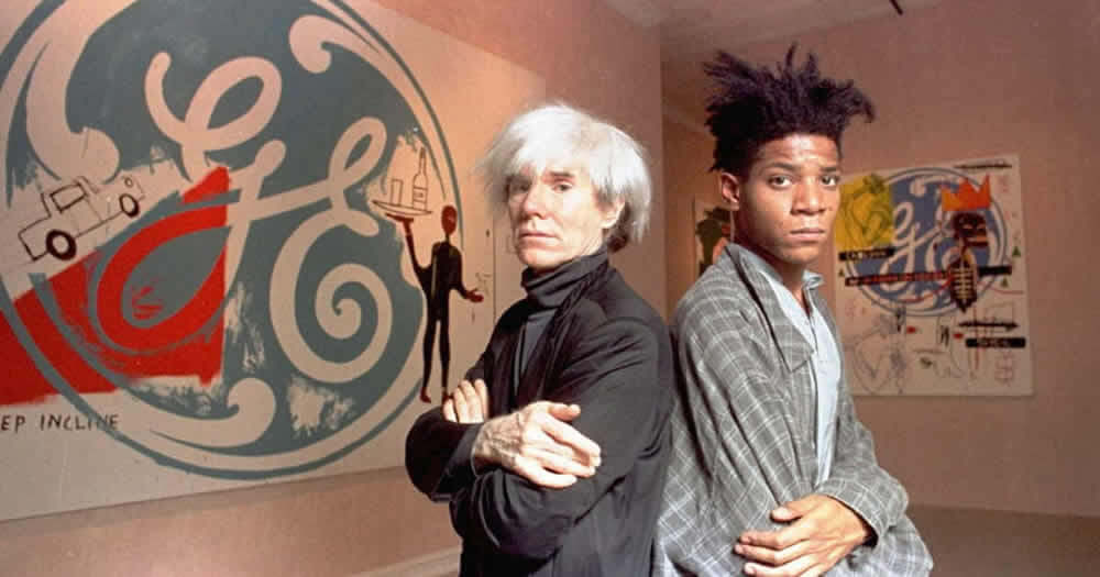 Andy Warhol Basquiat Collaboration