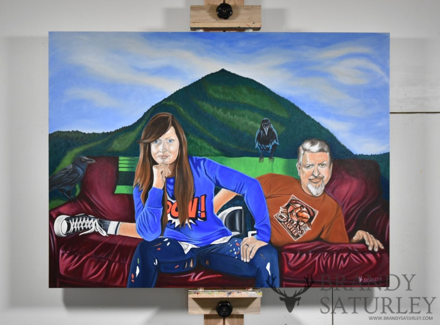 Brandy Saturley Canadian artist