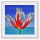 canada150 tulip art print