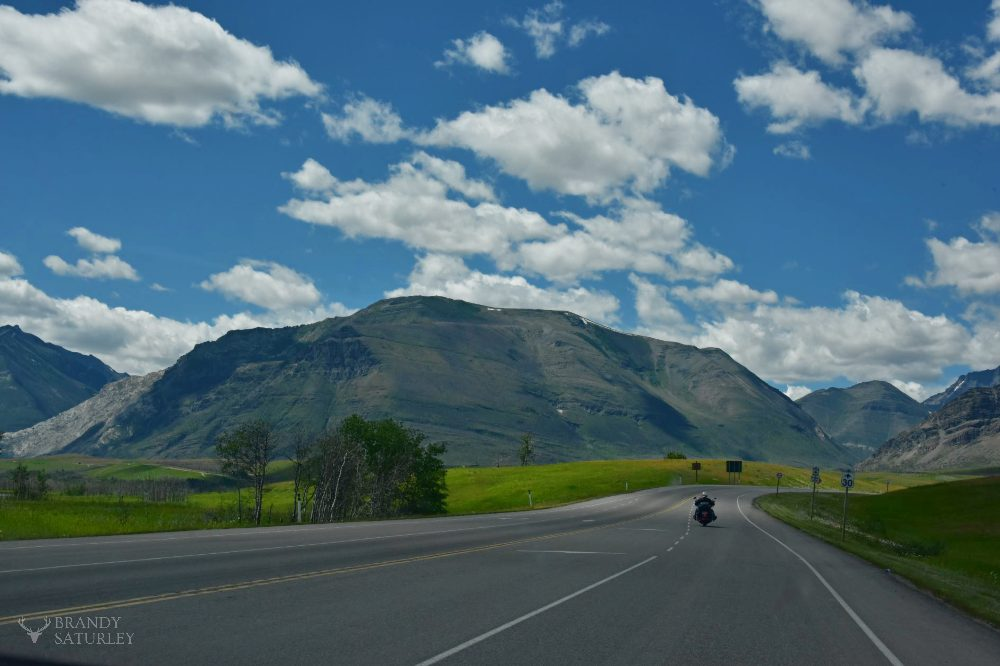 travelling by bike through Alberta - Brandy Saturley