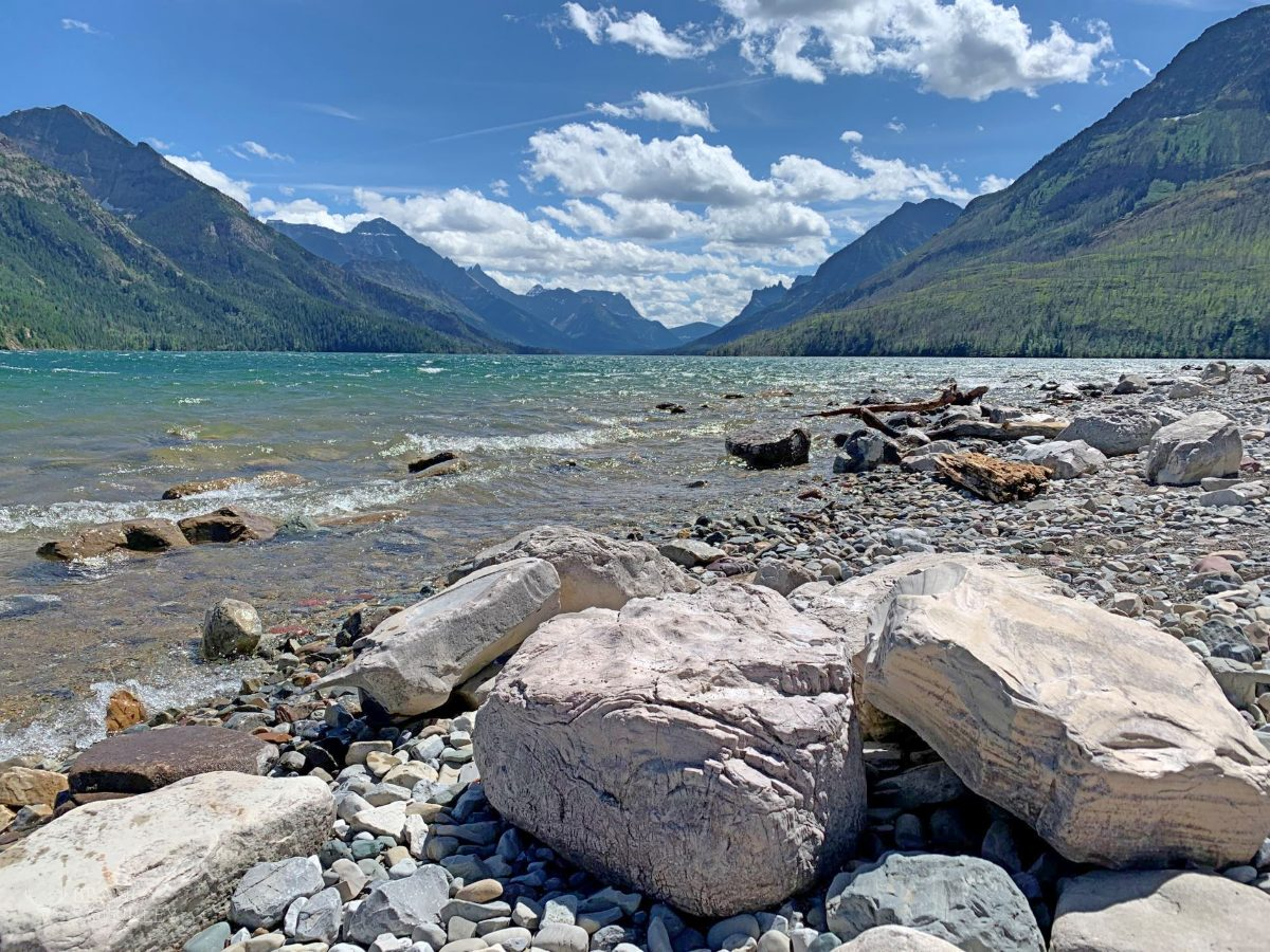 Waterton Lakes National Park July 2020 Summer tourism