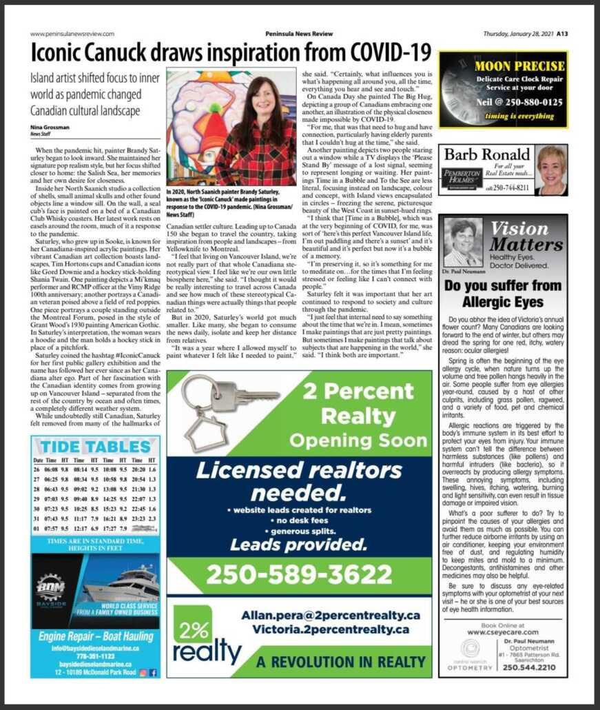 Peninsula News Review Feature