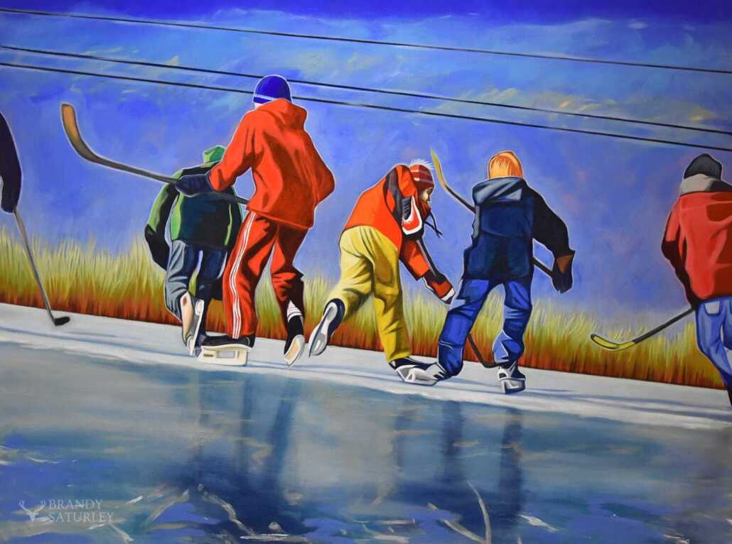 featured art Canadian paintings