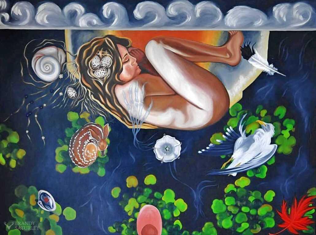 canadian artist brandy saturley