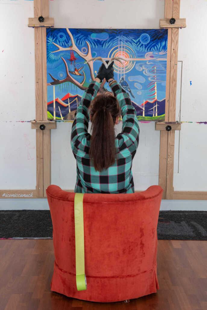 canadian artist painter brandy saturley