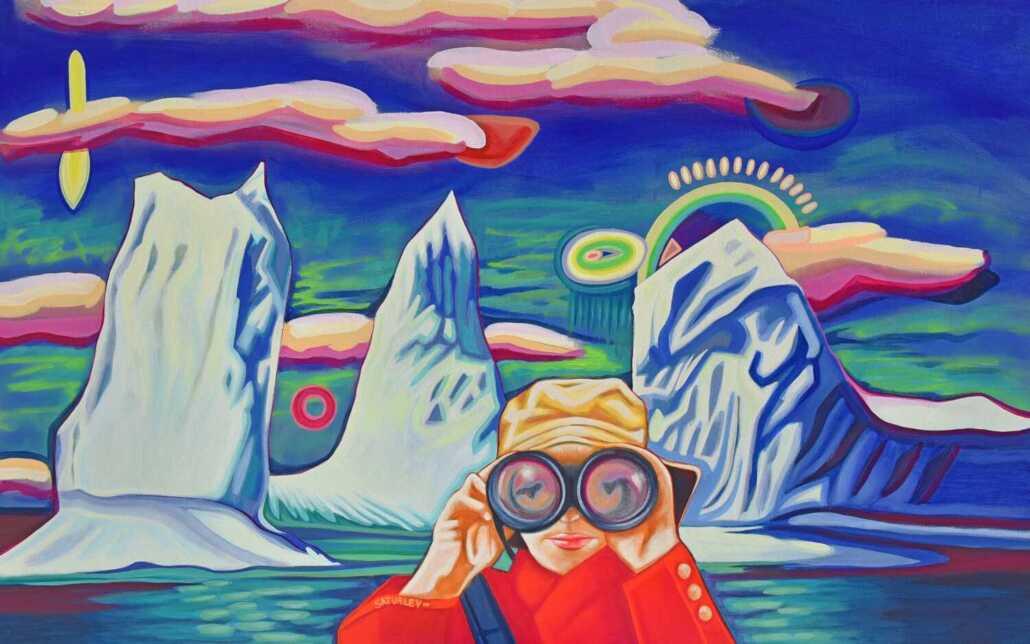 iceberg paintings