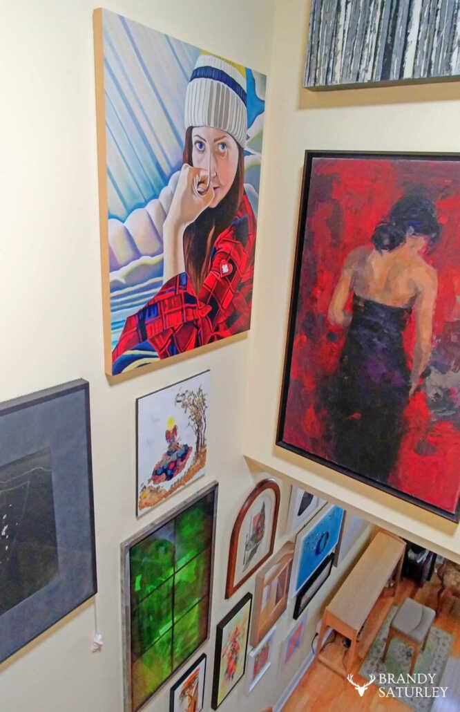 art in homes
