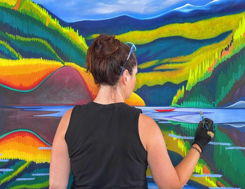 Canadian Artist Landscape Painting