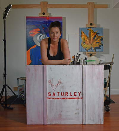 About Canadian Visual Artist The Art Of Brandy Saturley