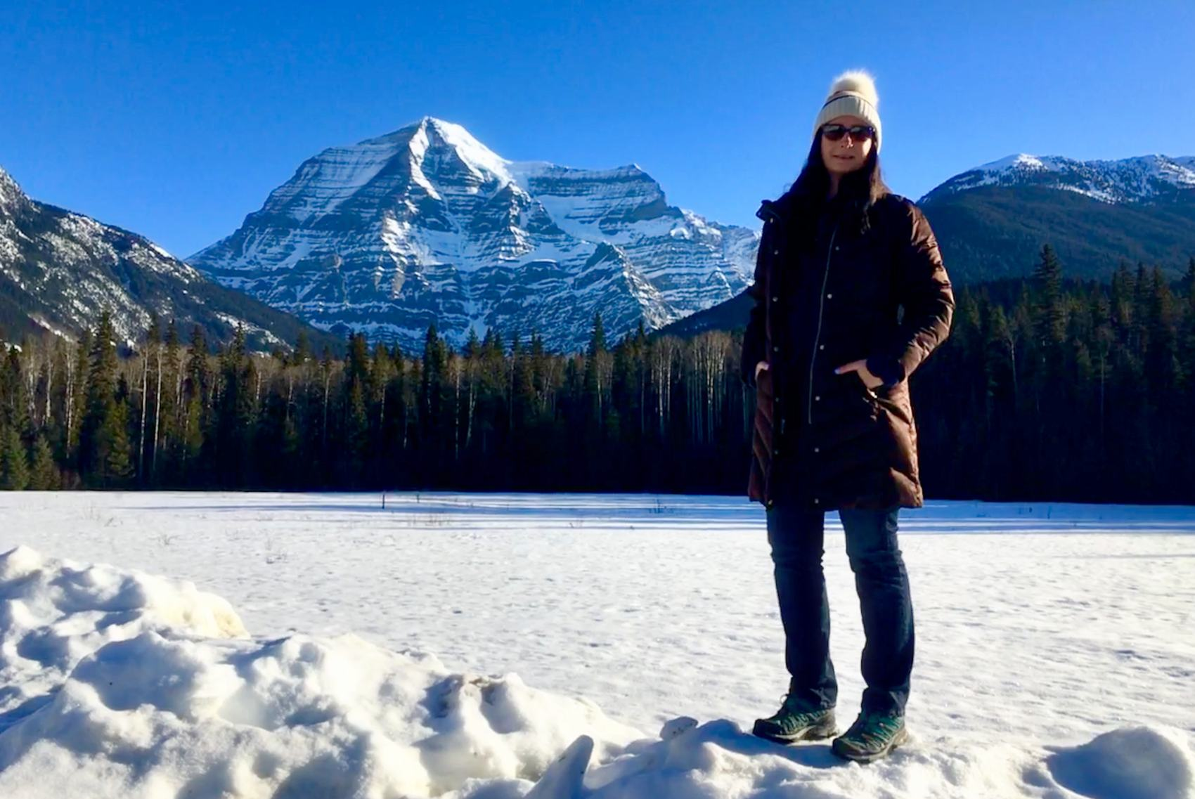Brandy Saturley at Mt. Robson 2019