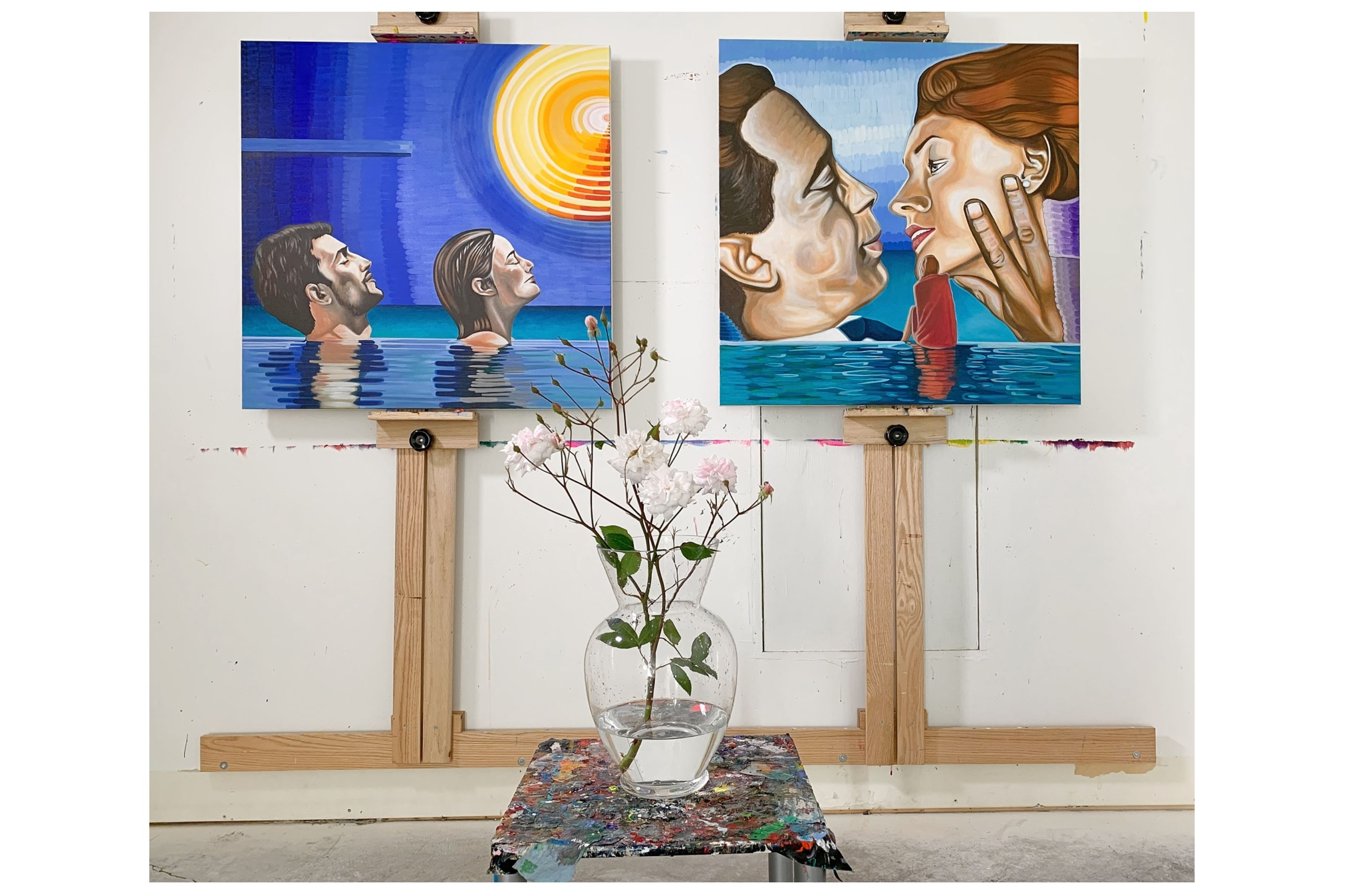 paintings about romance