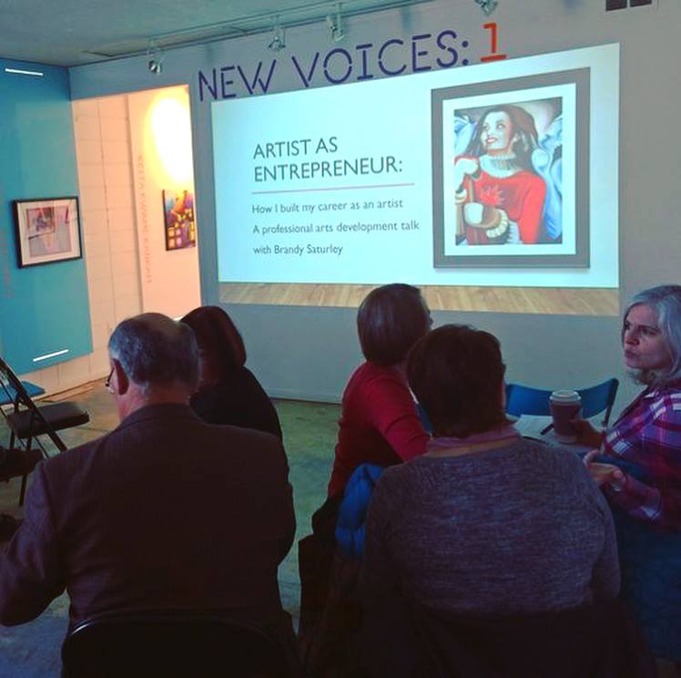 artist as entrepreneur Brandy Saturley Carfac Alberta