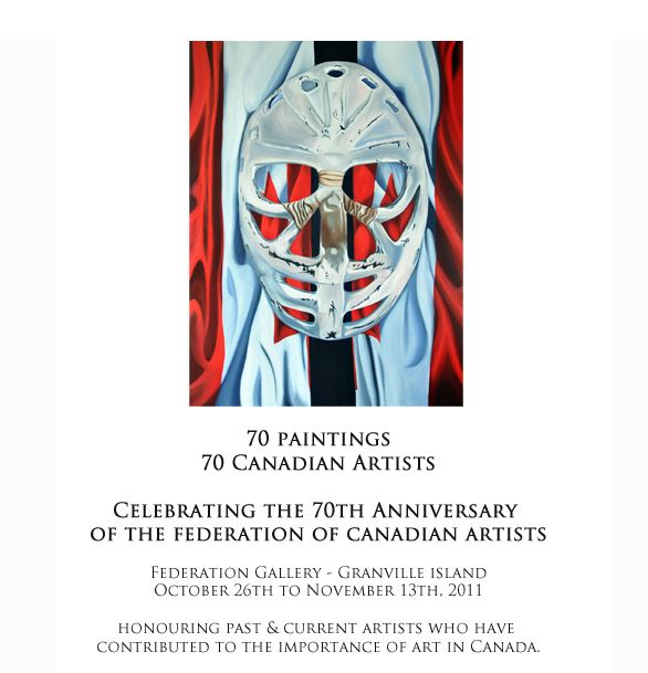 Federation of Canadian Artists 70th anniversary show Vancouver