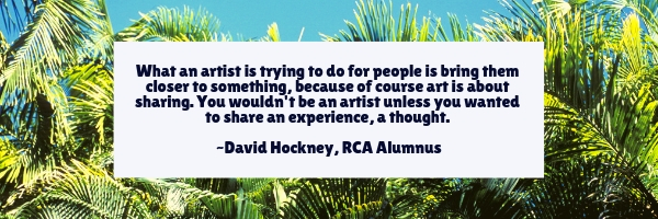 David Hockney quote