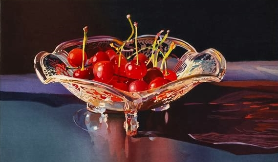 Mary Pratt Cherries painting