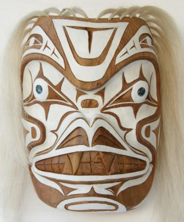 native art carving mask