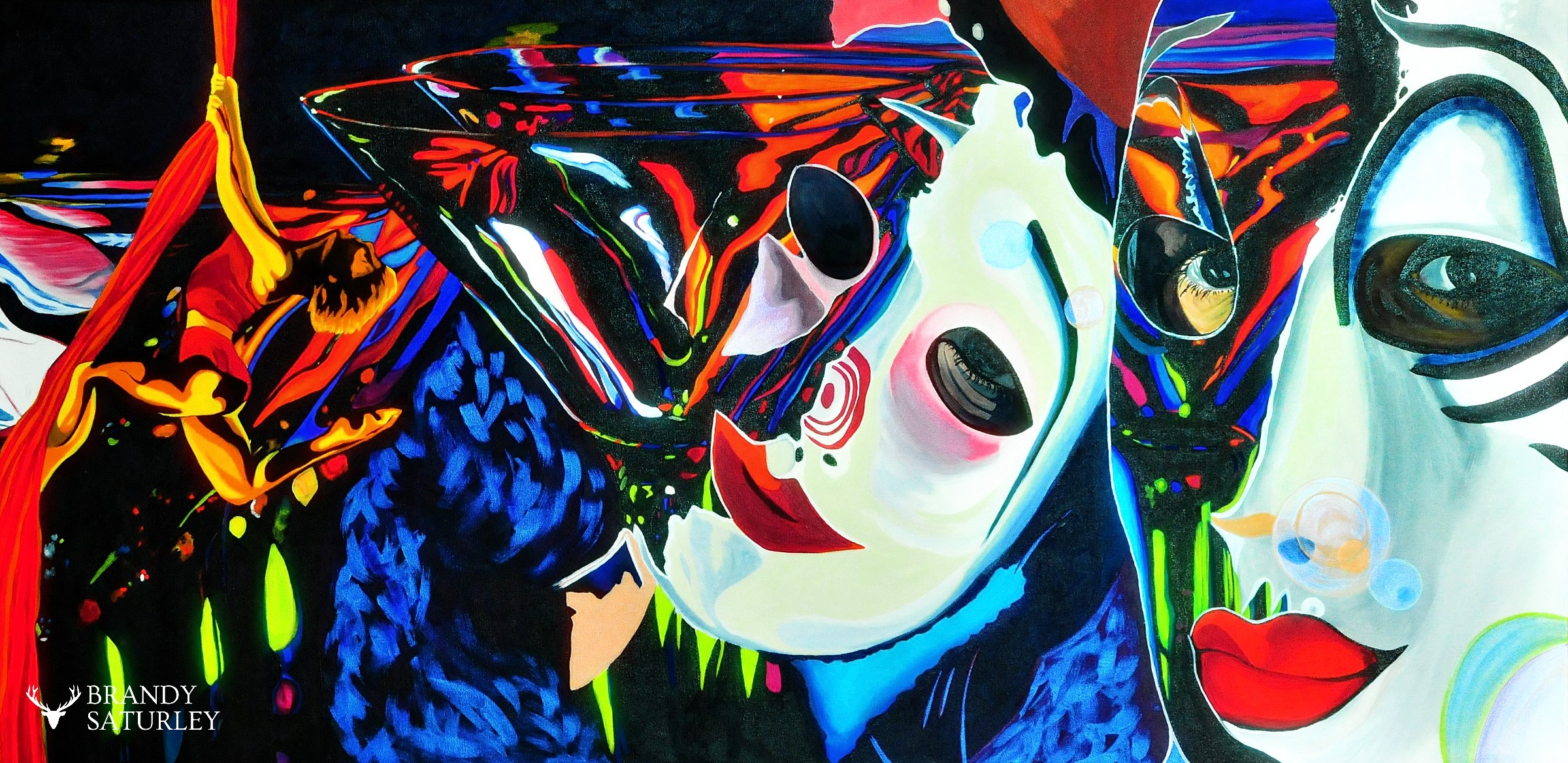 cirque du soleil painting