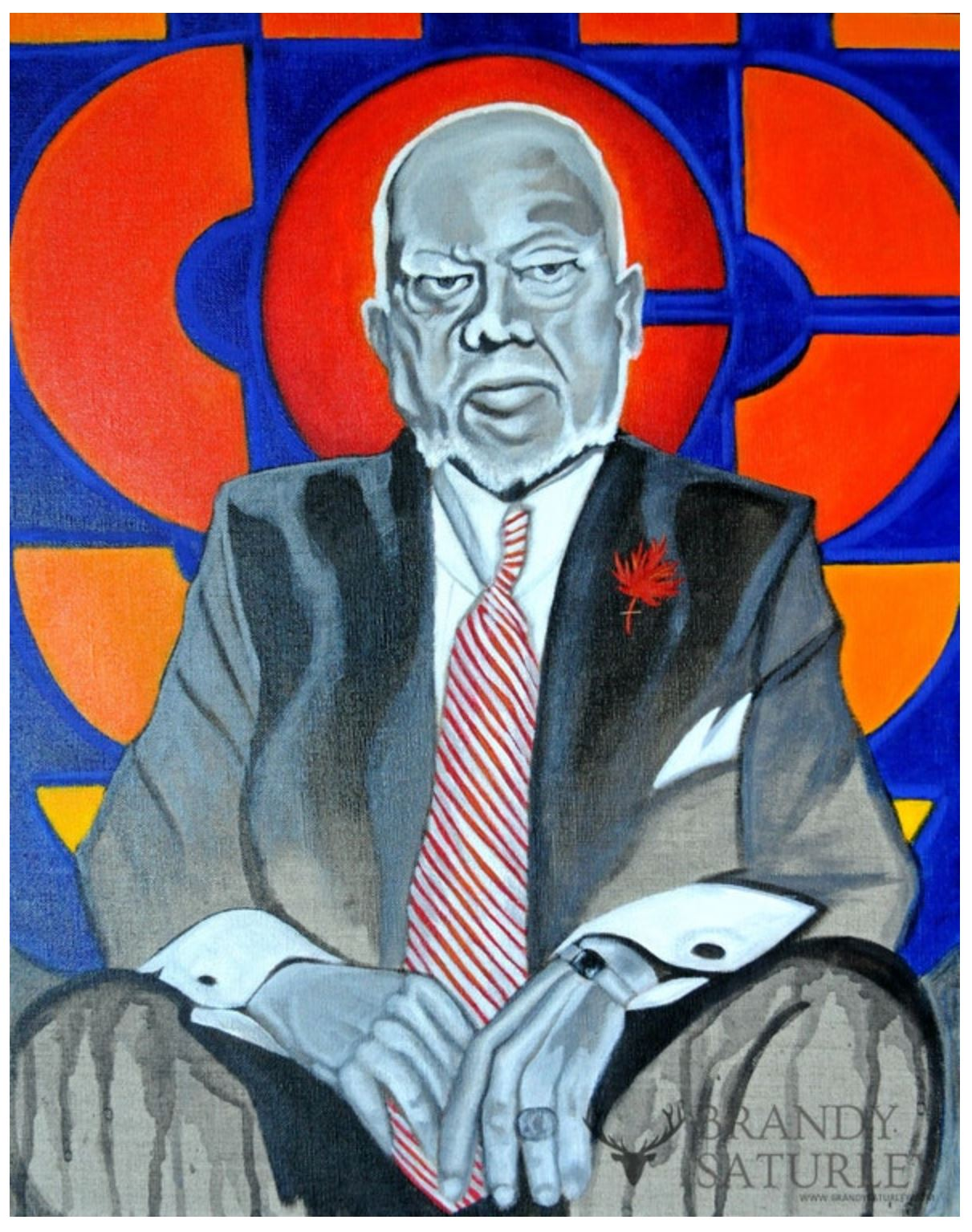 painting of Don Cherry