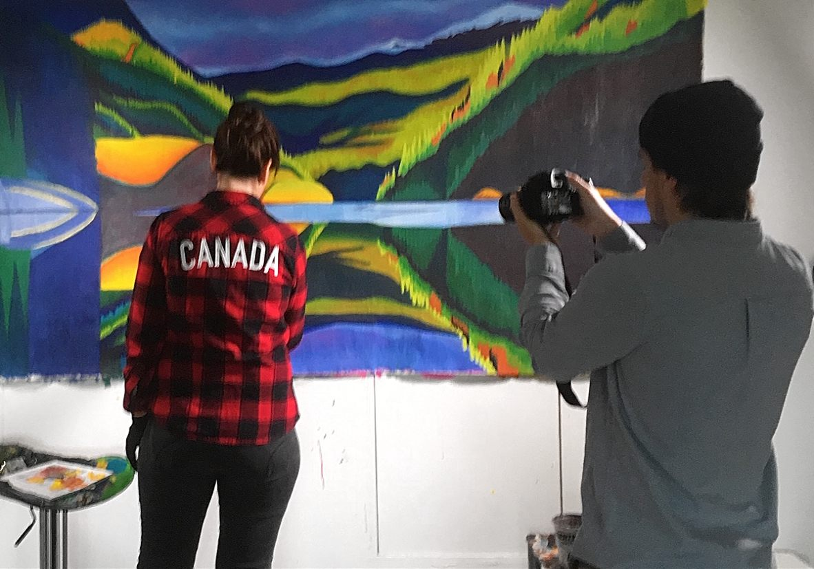 Randy Frykas documentary film Brandy Saturley Canadian artist