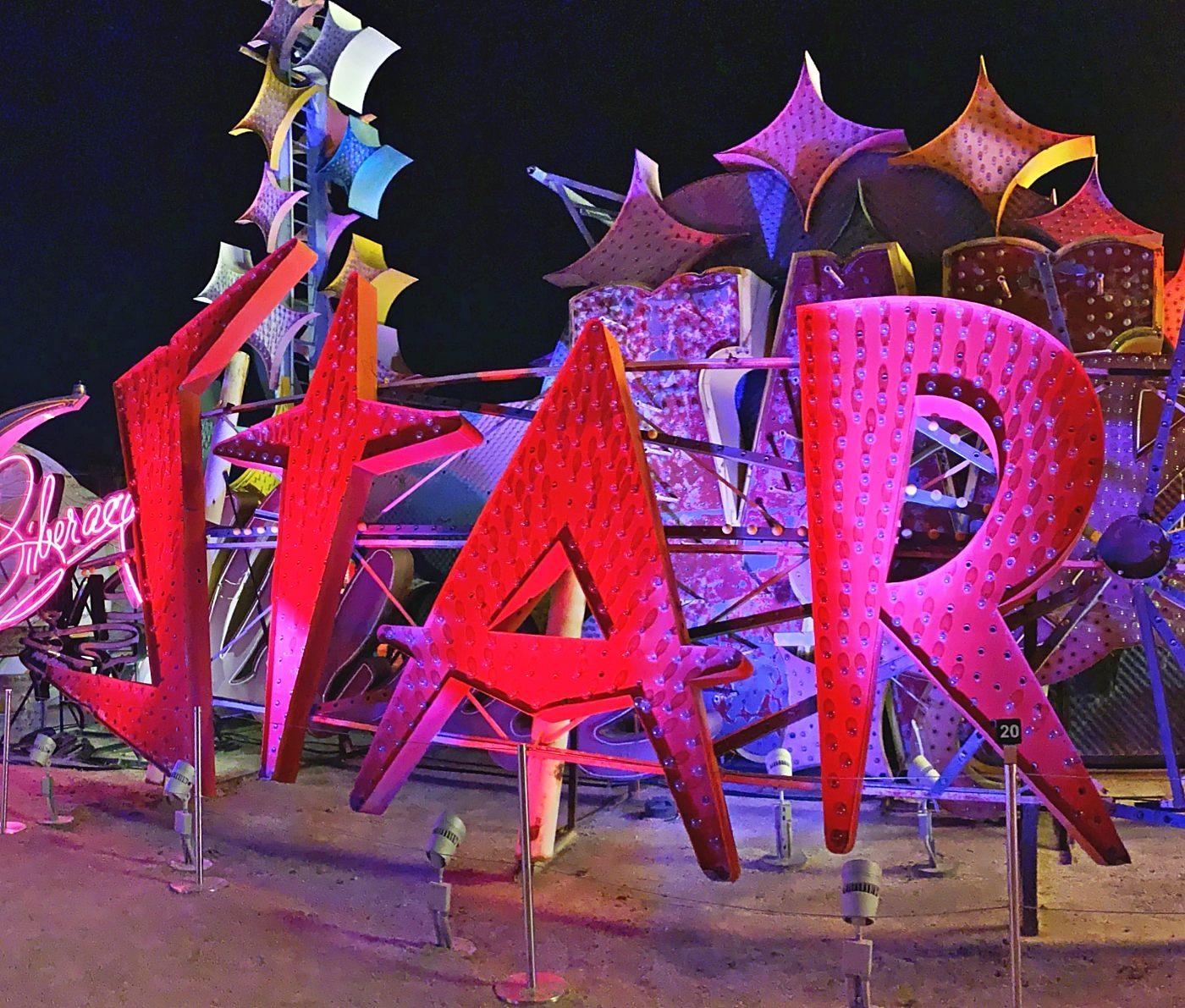 stardust sign neon boneyard las vegas