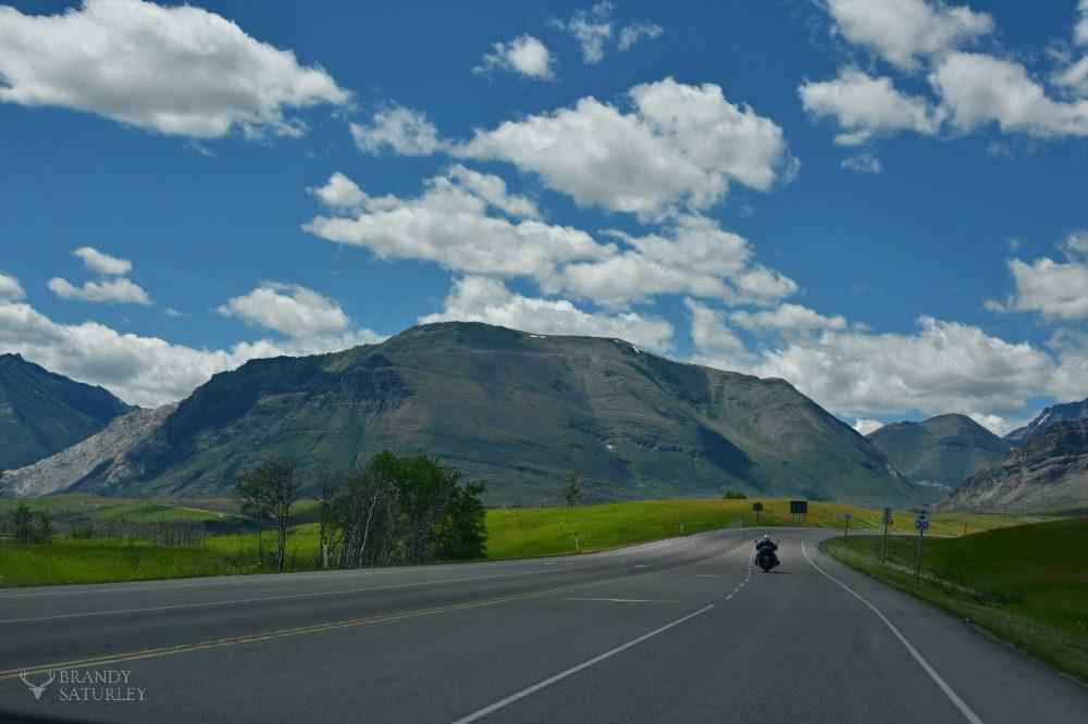 travelling by bike through Alberta - Brandy Saturley