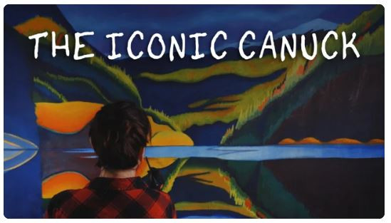 Canadian artist Brandy Saturely the Iconic Canuck